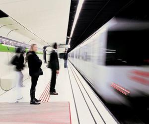 Estaciones de Tren y Metro