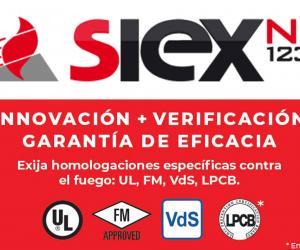 SISTEMA FIJO DE EXTINCIÓN  con SIEX-NC™ 1230