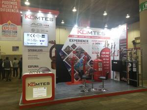 SIEX / Grupo KOMTES participa en la 4ª Expo Fire Protection & International Forum el 1 y 2 de octubre en WTC de la Ciudad de México.