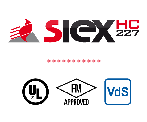 Siex Hc 227 Sistemas De Extincion De Incendios Siex
